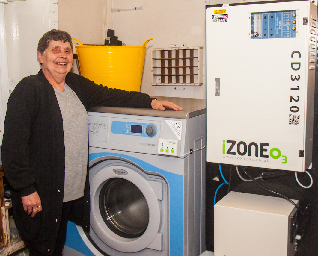 iZoneO3 - for Coin-op laundrette in SE London